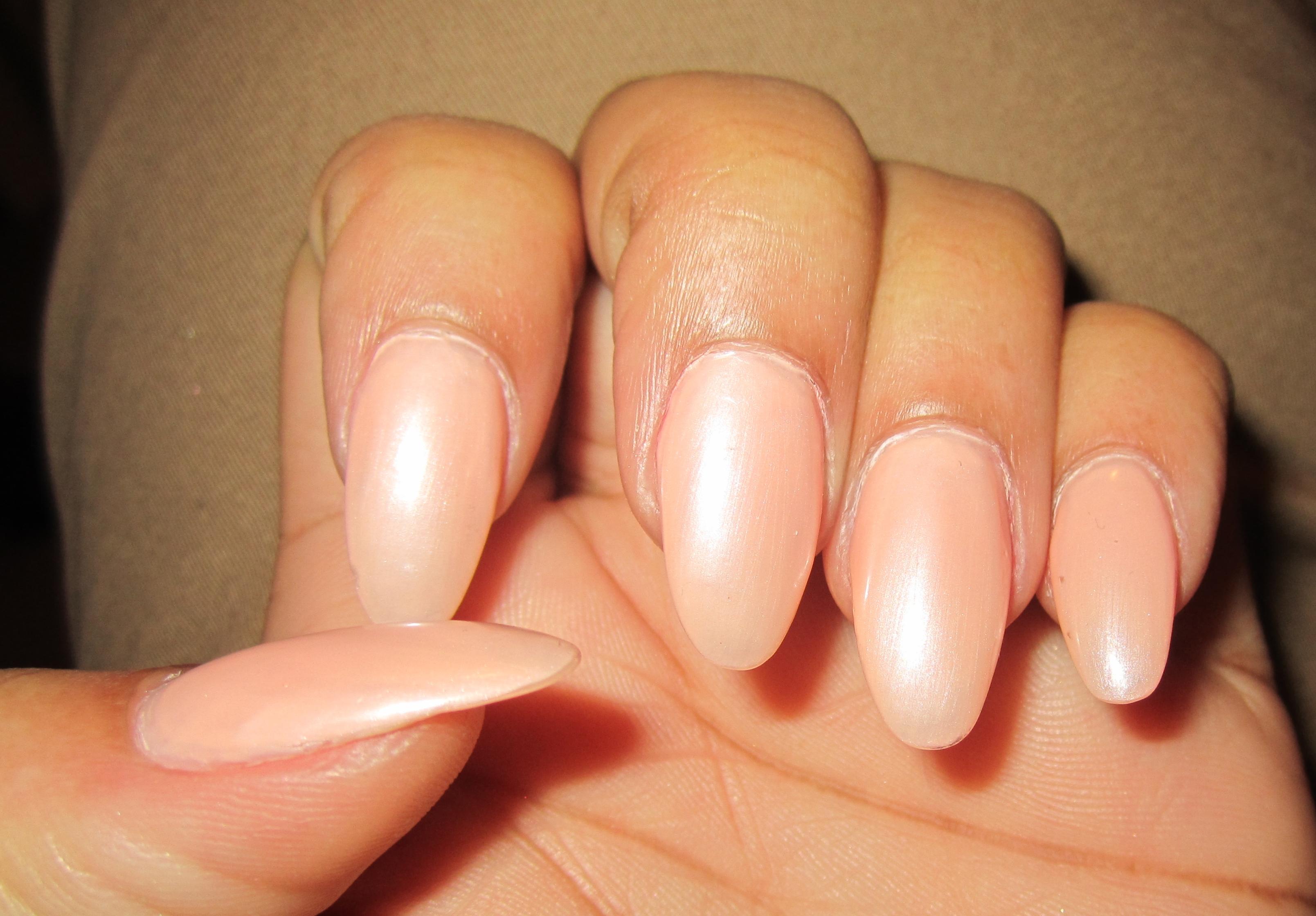 Nude Stiletto Nails   The Blu Sugar