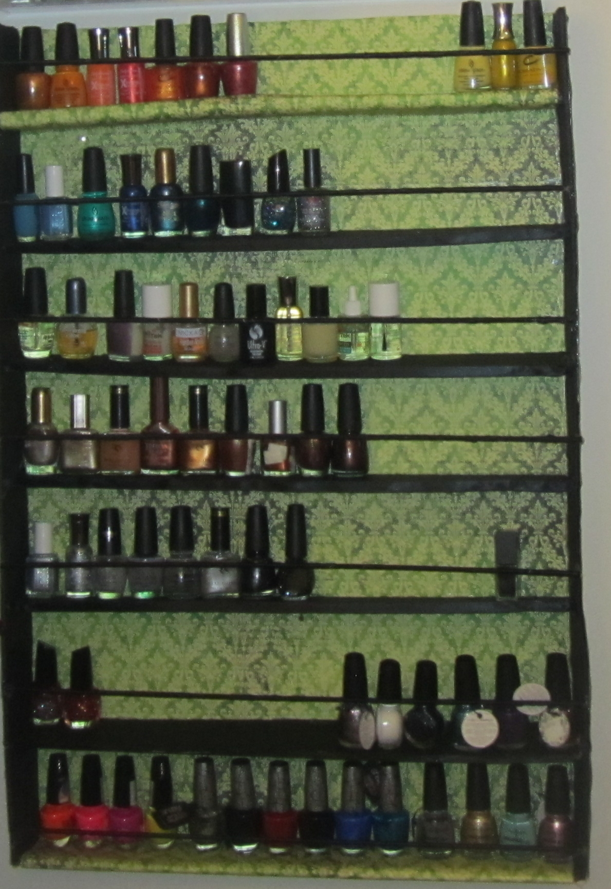 Diy Wood Nail Polish Rack Plans Free PDF Download